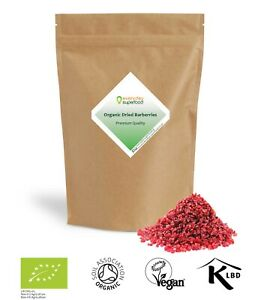 Organic Dried Barberries Certified Barberry an Alternative for Dried Cranberries