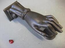 ladies hand Cast Iron Door Knocker -  Antique style
