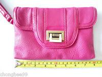Women's Clutch Bag Evening Wedding Party Purse Small Handbag Cosmetic Bag Pink