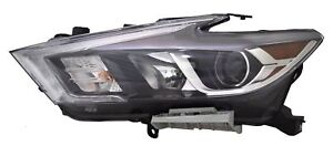 FITS NISSAN MAXIMA 2016-2018 LEFT DRIVER LED HEADLIGHT HEAD FRONT LAMP W/BULBS