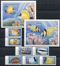 Malediven Maldive 1998 Fische Fishes Poissons Pesci 3122-3146 + Block 414-415 **