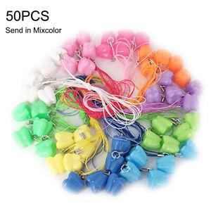 50pcs Colorful Baby Kids Tooth Storage Box Organizer Milk Teeth Keepsake Holder