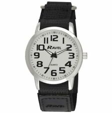 Ravel Mens Fast Fit Strap Easy Read Sports Watch R1601.64.12 White Face