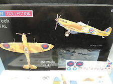 RARE 1/48 Super Marine Spitfire MK V - pre-painted die cast kit