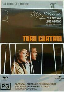 Torn Curtain DVD 1966 Paul Newman, Julie Andrews ROMANCE Thriller Rare Movie