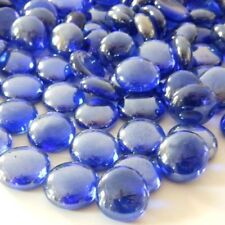 5kg Lustered Dark Blue Glass Pebbles/Nuggets Approx 1200 in box