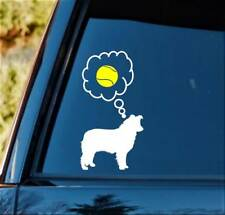 Border Collie Tennis Ball Dog Decal Sticker L1067 Dog Toy Pet Gift Accessory