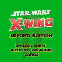 X-Wing Miniatures 2.0 Game 2nd Edition: Unused Ships with NO upgrade cards!