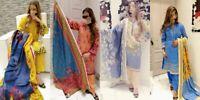 Pakistani women 3pc Readymade Orignal KHAADI  Khaddar shalwar kameez suit M/L