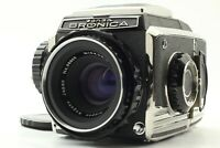 【Near MINT】Zenza Bronica S2 Medium Format + Nikkor-P 75mm f/2.8 Lens from Japan