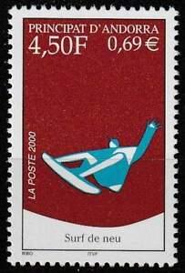 Andorra Frans postfris 2000 MNH 548 - Snowboarding
