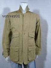 NWT ORVIS Heavy Duty Canvas/Leather Hunting/Field/Barn Coat/Jacket Beige sz XL