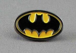 #0048 BATMAN LOGO ENAMEL METAL PIN BADGE LAPEL