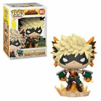 RARE Katsuki Bakugo MHA SDCC Funko Pop Vinyl New in Mint Box + Protector