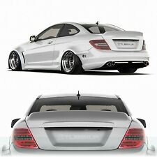 Rear spoiler ducktail Mercedes w204 Coupe