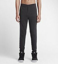 Nike Air Jordan CITY Lavorato a Maglia MEN'S Pantaloni-M-Nero Heather - 724493 060