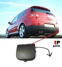 FOR VW GOLF V MK5 GTI 2003 - 2009 NEW REAR BUMPER TOW HOOK EYE COVER CAP BLACK