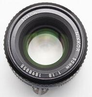 Nikon Nikkor 50mm 50 mm 1:1.8 1.8