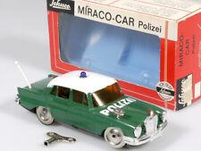 Schuco 1001/1 Miraco-Car Mercedes MB 220 W 111 Polizei geprüft OVP 1310-07-92