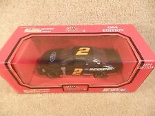 1994 Racing Champions 1:24 Diecast NASCAR Rusty Wallace Ford Thunderbird Blue b