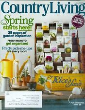 2013 Country Living Magazine: Spring Starts Here/Garden Inspiration/Easter Food