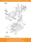 SUZUKI washer, Inner Plate, 09160-05049 OEM