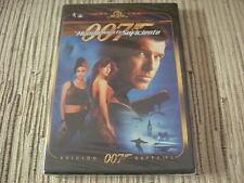 DVD PELICULA  007 EL MUNDO NUNCA ES SUFICIENTE PIERCE BROSNAN ED ESPECIAL NUEVO