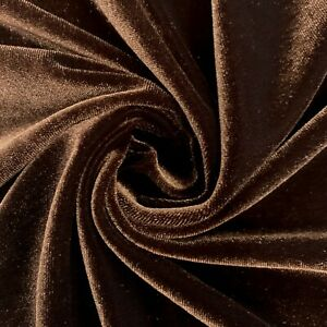 71 Colors Princess Polyester Spandex Stretch Velvet Fabric for Bows, Clothes
