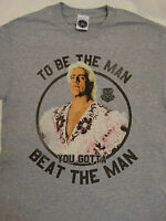 Ric Flair To Be The Man You Gotta Beat The Man Wrestling WWE T-Shirt S Small