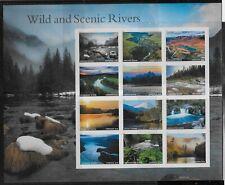US Scott #5381, Miniature Sheet 2019 Wild & Scenic Rivers VF MNH