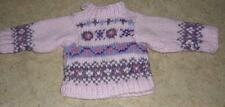 Pink Patterned Ski Sweater for Nancy Drew/Kitty Collier Doll??