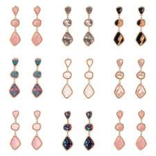 1 Pair Individuality Color Opal Ear Stud Dangle Drop Earrings Fashion Jewelry