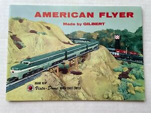 1956 American Flyer by Gilbert Train Catalog New Vista Dome Cars- Nice!