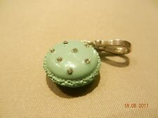 Juicy Couture  Limited Edition FRENCH MACARON COOKIE Charm - Silver Clasp