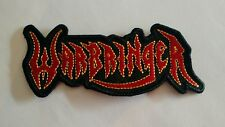 Warbringer Embroidered Patch IRON/SEW ON USA Seller Fast Delivery Metallica