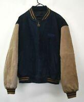 Dunbrooke Distinctive Images Men's Large Long Sleeve Full Zip Up Bomber Jacket