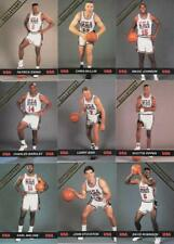 1992 BALL STREET USA BASKETBALL (9) CARD LOT MAGIC, BIRD, ROBINSON, MALONE++++++