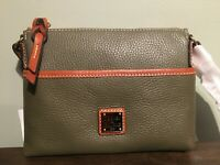 Ginger Pouchette Dooney and Bourke Handbag Purse Bag Crossbody  New Gift
