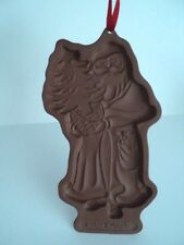 Longaberger 1991 Kriss Kringle Pottery Santa Christmas Cookie Mold
