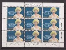 Queen Mother 80th Birthday 1980 MNH Stamp Sheet Pitcairn Islands