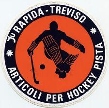 ADESIVO (1986) /STICKER * Ju RAPIDA - TREVISO * ARTICOLI PER HOCKEY PISTA *