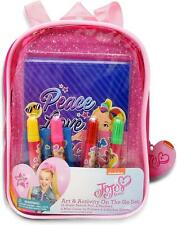 JoJo Siwa Coloring and Activity Book Set, Includes Markers, Stickers, Mess Free
