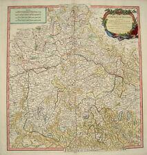 Bayern Regensburg München Straubing Cham Aicha Kupferstich Landkarte Robert 1751