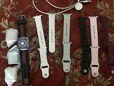 Apple Watch Nike+Series 3GPS,42mm,Silver Aluminum Case,6 Bands 5 ScreenProtector