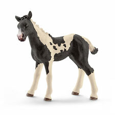 Schleich 13803 Black Pinto Foal Model Horse Toy Figurine 2016 - NIP