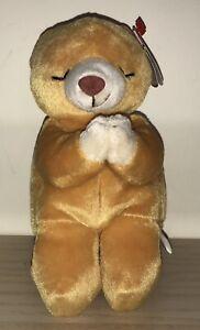 BNWT! TY Beanie Baby Hope the Praying Bear DOB March 23rd 1998