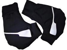 Ruderhandschuhe schwarz / silber mit Aufdruck, Rudern, Rowing Poggies