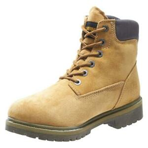 "New Men's Wolverine W01191 Gold 6"" waterproof work Boot"