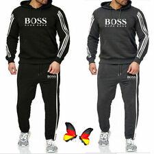 2 Pic Herren Jogginganzug Hooded Sweatshirt Hosen Trainingsanzug Sportanzug 3XL