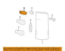 Mercedes MERCEDES-BENZ OEM 10-15 Sprinter 2500-Exterior Bulb 072601012703